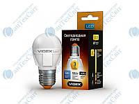 LED лампа VIDEX G45 5W E27 3000K 220V (23394)