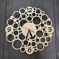 Настенные деревянные часы Модерн