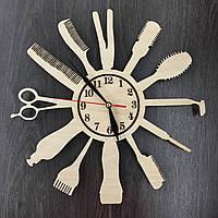 Настенные деревянные часы Индустрия красоты