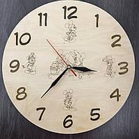 Детские часы на стену Любимые герои мультфильмов