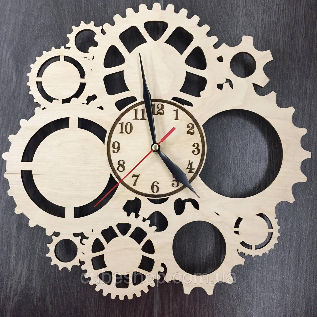 Настенные часы Скелетон