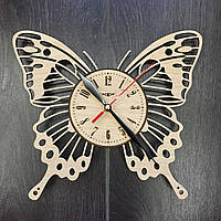 Дизайнерские настенные часы Бабочка, фото 1