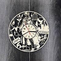 Часы настенные из дерева Гарри Поттер - Магия