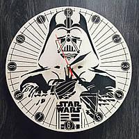 Настенные часы из дерева Звездные войны, фото 1