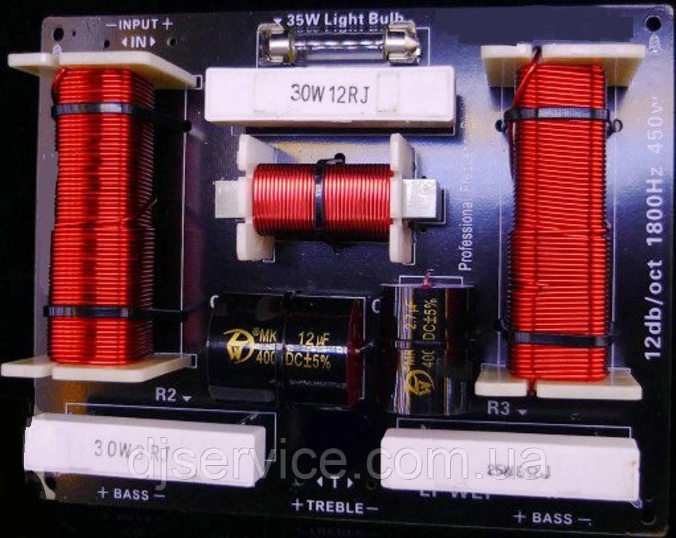 Y-36 (450 W) (НЧ-НЧ-ВЧ) 1800 Гц