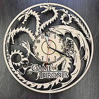 Часы настенные деревянные Игра Престолов
