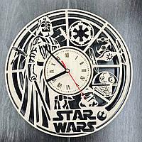 Оригинальные настенные часы Звездные Войны, фото 1