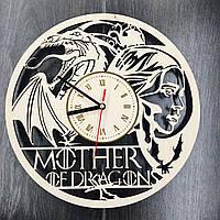 Настенные часы Игра престолов - Mother of Dragons, фото 1