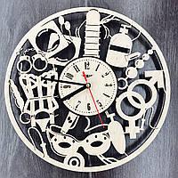 Дизайнерские настенные часы 18+ Для двоих