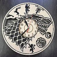 Дизайнерские настенные часы Game of Thrones, фото 1