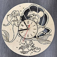 Часы настенные детские Русалочка, фото 1