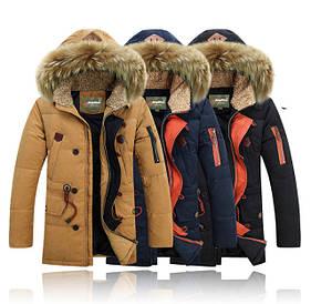 Куртки и парки мужские