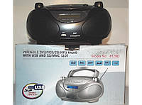 Радиоприемник 8128D DVD, DVD-R, DVD-RW, CD-R, CD-RW, MP3; цифровое радио, USB