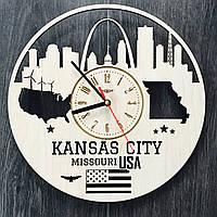 Концептуальные настенные часы Канзас-Сити, Миссури
