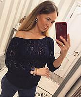 Женский свитер на одно плечо в расцветках 33KF36