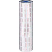 Этикет-лента 21,5 х 12 мм белая, 800 шт в рулоне