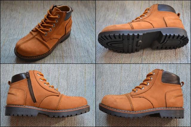 Minican ботинки бежевые фото
