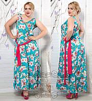 Платье сарафан большого размера 48-62