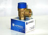 """Предохранительные клапаны MSW 1/2""""х3/4"""" 6 bar AFRISO"""