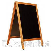 Штендер меловый двухсторонний 100х60 см., фото 2
