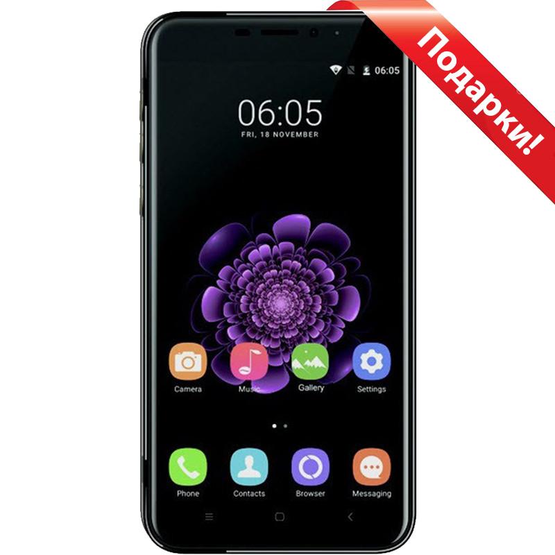 """Смартфон 5.5"""" Oukitel U20 Plus Черный, 2GB+16GB Android 6.0 камера 13Мп Sony IMX135 3200mAh"""