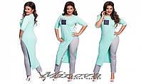 Костюм туника и брюки 50-56 разные цвета