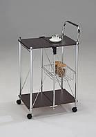 Сервировочный столик складной на колесиках W-91