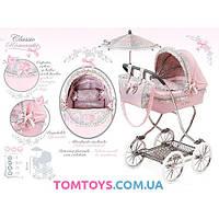 Классическая коляска для куклы Романтик DeCuevas 80219