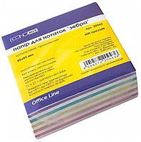 Бумага для заметок Economix E20943 Зебра 400 листов клееный