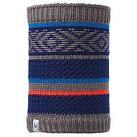 Бафф Buff Junior Neckwarmer Knitted and Polar Tipsy Blue Ink/Navy