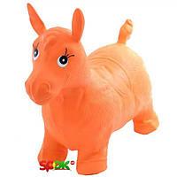 Прыгун Bambi MS 0001 Лошадка Оранжевый