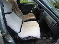 Автомобильный чехол, стриженый, белый, подголовник