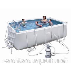 Bestway Каркасный бассейн Bestway 56457 (412х201х122) с песочным фильтром