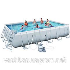Bestway Каркасный бассейн Bestway 56471 (671х366х132) с песочным фильтром