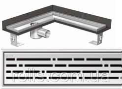 Решетка Микс ACO ShowerDrain E-Line для углового душевого канала