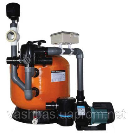 Emaux Фильтрационная установка Emaux KOK-80 (35 м3/ч, D820) для прудов