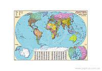 Карта Политическая карта мира, арт.: AG0167