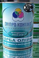 Краска масляная Днепр-Контакт чёрная 1 кг