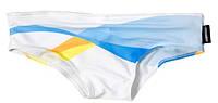 Мужские плавки Aussiebum бело-голубые