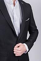 Пиджак стильный мужской, классика №276Y003 (Черный)
