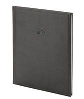 Еженедельник датированный 2018, А4, черный, обложка Torino, Brunnen