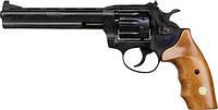 Револьвер под патрон Флобера ALFA mod.461 4 мм ворон/дерево