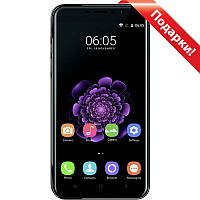 "Смартфон 5.5"" OUKITEL U20 Plus, 2GB+16GB Черный 4 ядра Камера Sony IMX135 Exmor RS 13Мп Android 6"