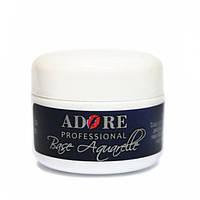 Дизайн ногтей Adore Professional База Adore Aquarelle белая 5 мл