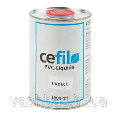Cefil Жидкий ПВХ Cefil PVC Liquide темно-голубой 1л уцененный