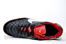 Бутсы для футзала в стиле Nike Tiempo Mystic, Black\Red, фото 2