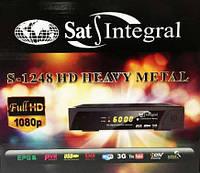 Спутниковый тюнер Sat-Integral S-1248 HD HEAVY METAL