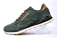 Мужские кроссовки Reebok Classic Leather Clip Trainers, Green