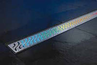 ACO ShowerDrain E-Line подсветка каналов радуга