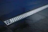 ACO ShowerDrain E-Line подсветка каналов белая
